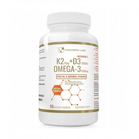K2+D3+OMEGA 3 120 softgels