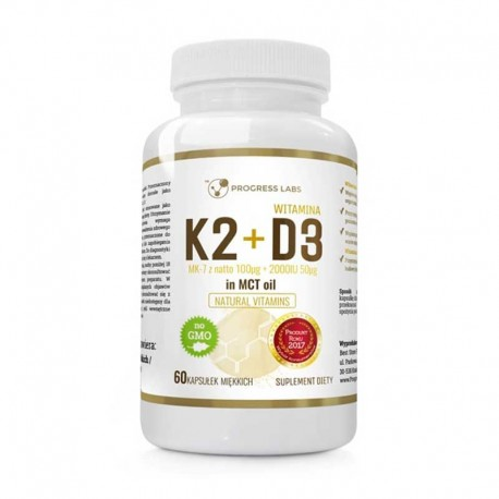 K2+D3 in MCT Oil 60 softgels