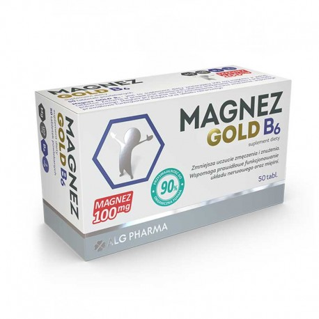 Magnez GOLD B6 50 cpr